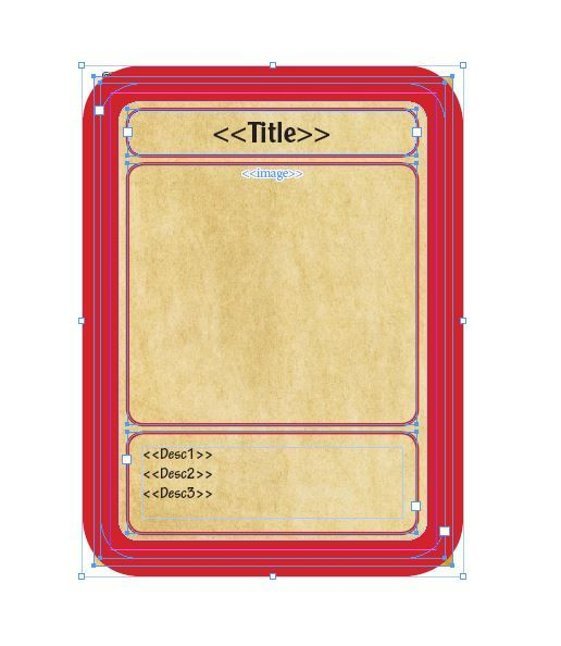 Trading Card Game Template  Free Download