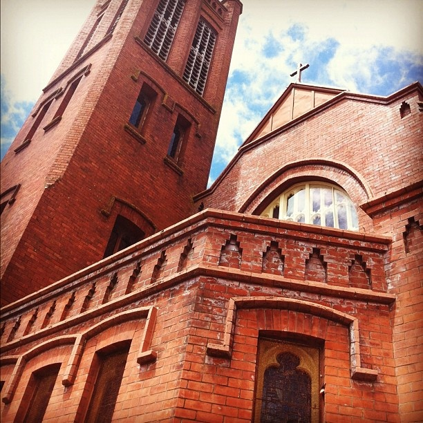 All Saints church in palmerston north