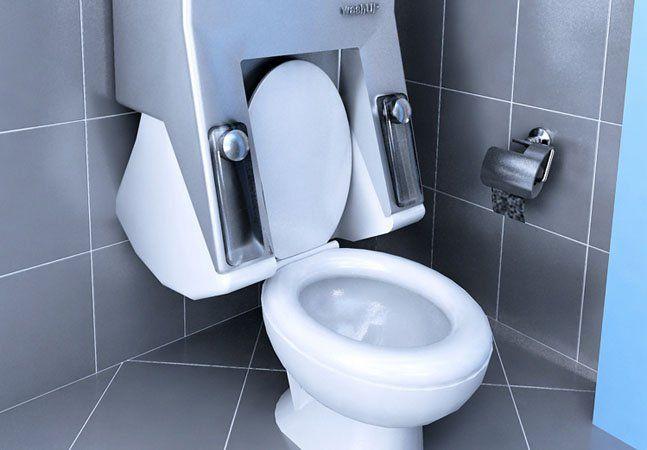 A cada descarga de seis segundos que você dá, cerca de 14 litros de água limpa são desperdiçados. Em tempos de racionamento de água, principalmente em São Paulo, a maior cidade do país, novas soluções para a economia desse recurso são bem-vindas e, no caso da descarga, a máquina de lavar pode ser a grande chave. Pensado pelo designer turco Sevin Coskun, a WashUp é um conceito de máquina de lavar roupa que, integrada ao vaso sanitário, provê a água necessária para descargas, economizando água…