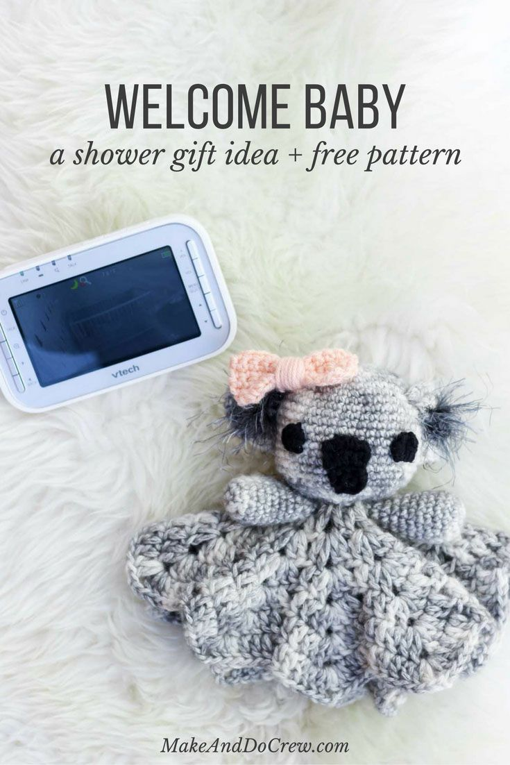 Cottage snuggle sack and hat crochet baby baby cocoon and sacks - Cuddly Koala Free Crochet Lovey Pattern Koalasfree Crochethat Crochetcrochet Babycrochet