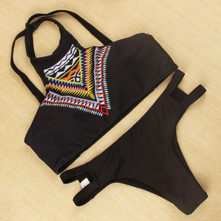 NEW Trendy 2016 Super Fashion Etnic Style Bikini