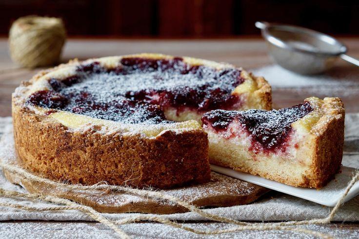 Crostata Morbida con Ricotta e Marmellata