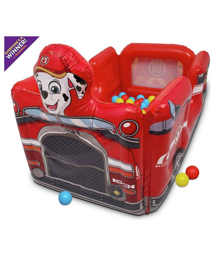 Buy paw patrol inflatable ball pit at argoscouk your