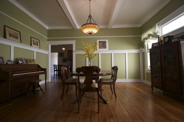 bungalow dining room   38 best images about 1929 Bungalow on Pinterest   Bungalow ...