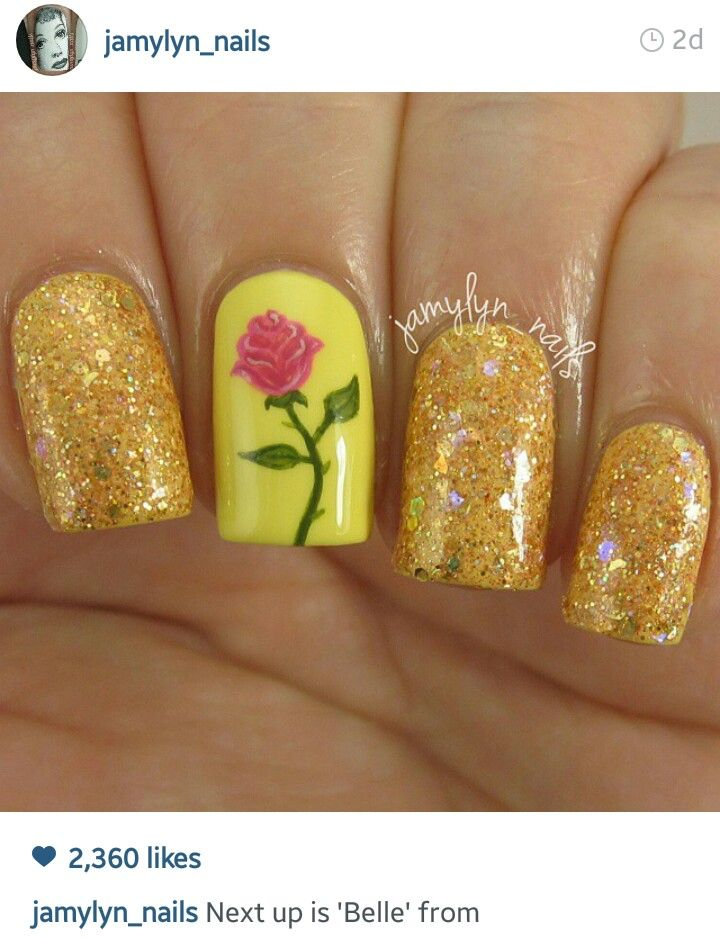 Beautiful belle nails!