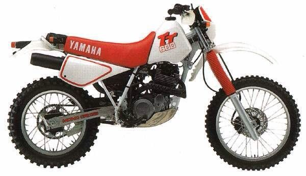 1987 YAMAHA TT600. I loved the sound of these old thumpers. I raced it in GGN endoro competition once. It was a heavy bike!!!