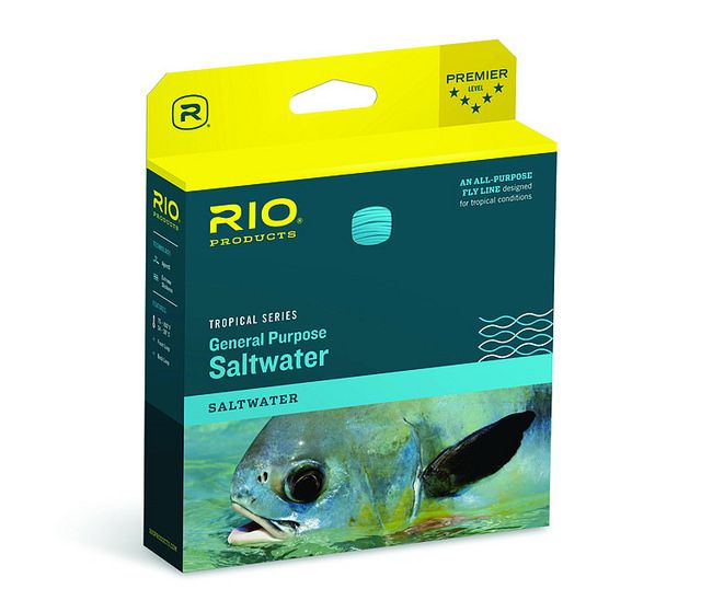 RIO Tropical General Purpose Saltwater Fly Lines for Sale, SAME DAY Shipping, NO Sales tax. These Rio Tropical General Purpose Saltwater fly lines offer a very good quality fly line to suit widest range fly fishing for both generalist and specialist fly angler prowling beaches, bays, offshore, and estuaries in the warmest climates around the world. Guide Reviews, Video, and Sales of Rio Tropical General Purpose Saltwater Fly Lines, a very solid all-water, all-angler ocean and estuary fly…