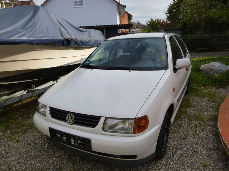 VW Polo 6 N Farbe: weiß Klimaanlage & AHK Bj. 11/1995 Tüv & AU Feb. 2018 55 kw   Check more at https://0nlineshop.de/vw-polo-6-n-farbe-weiss-klimaanlage-ahk-bj-111995-tuev-au-feb-2018-55-kw/
