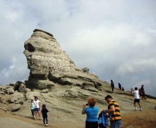 The Shpinx - Bucegi Mountains - Let's visit Romania together! Romanianexperience.wordpress.com -
