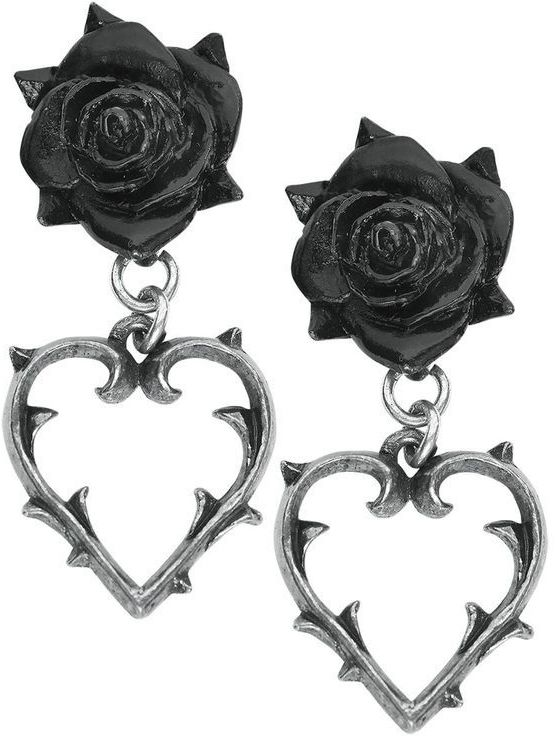 *Wounded Love* Ear Studs by Alchemy Gothic <3