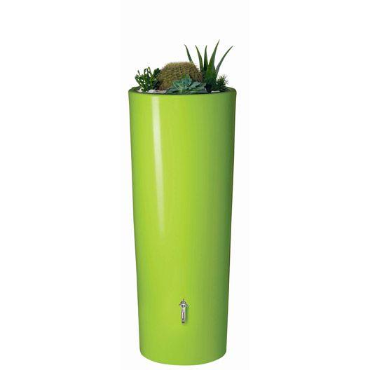 Récupérateur d'eau de pluie GARANTIA Kit Réservoir Color Apple 350L complet