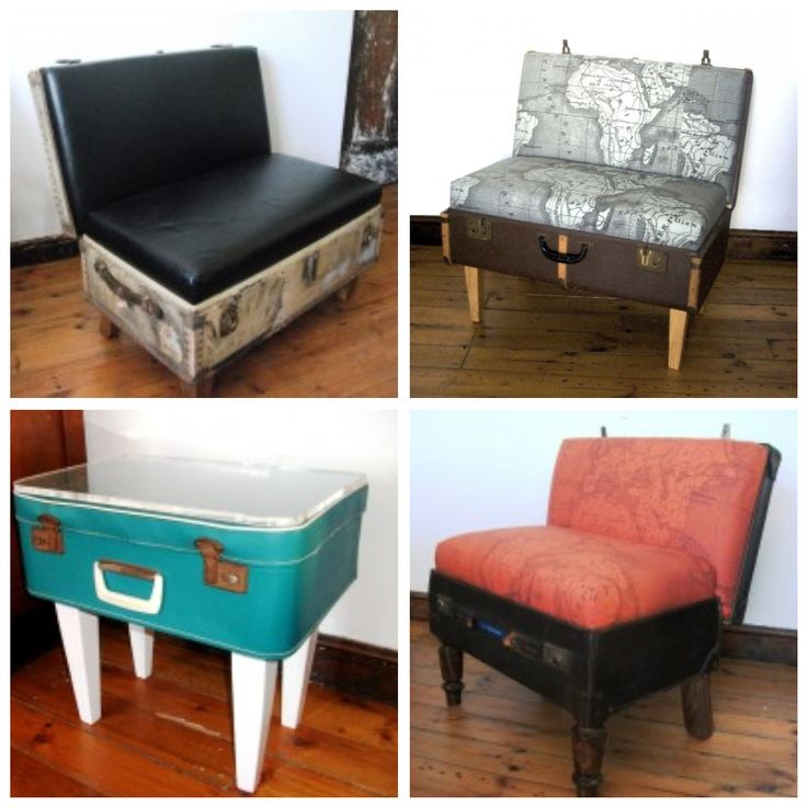 17 Best Images About Repurposed Furniture On Pinterest: Gypsy*Diaries: Suitcase Furniture