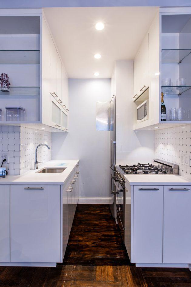 Small Purple Kitchen Design Ideas By Berceli Dengan Gambar