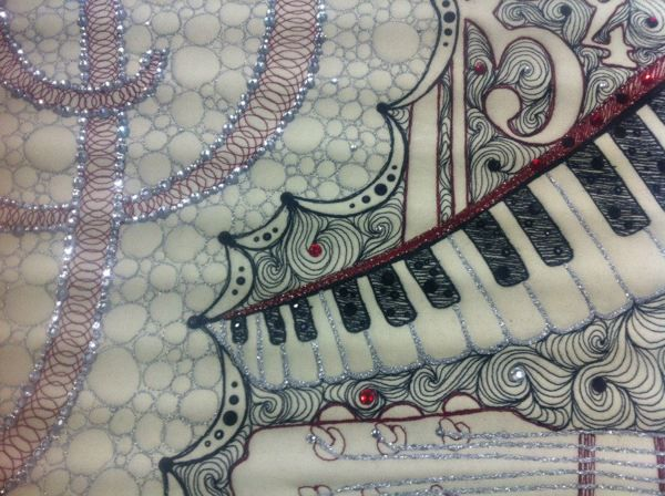 Shimmering Symphony Quilt on Behance