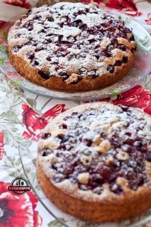 Вишневые пироги. Ингредиенты: | Шедевры кулинарии