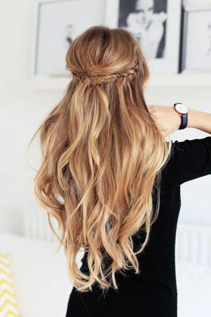 Makeup Ideas & Inspiration tendance coiffure 2016, coiffure d'été femme pour cheveux longs