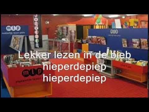 Hieperdepiep! (liedje over lezen en de bibliotheek) - met op de achtergrond bieb Heerenveen.