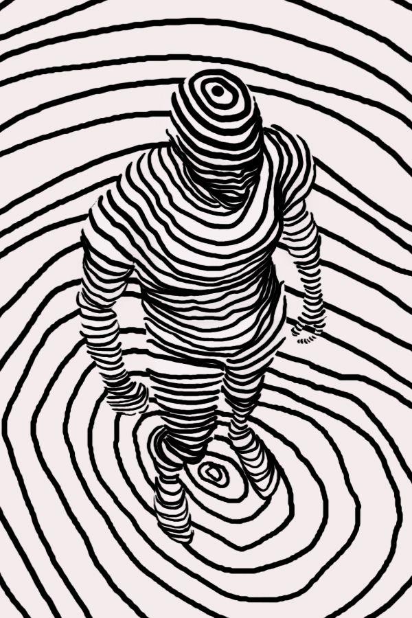 Una moderna interpretación de aquello capturado por el P. Gusinde...  Annie Wu - Camouflage