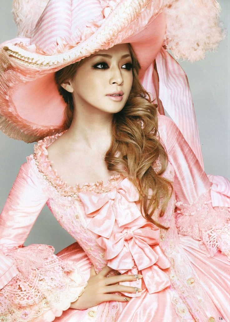 Japanese pop star Ayumi Hamasaki