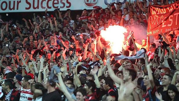 "Western Sydney Wanderers ♡ ""Who do we sing for? We sing for Wanderers"""