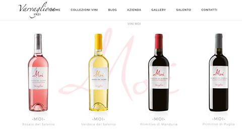 Moi Collection, or Youth Line. This wine family (Verdeca, Rosato del Salento and Primitivo di Manduria) follows a wine mindset addressed to the youngs. They are wines conceived for those winelovers who perceive wines as a refined and light lifestyle . Find them out.  #Varvaglione #collezioneMoi #winelovers #tastewine