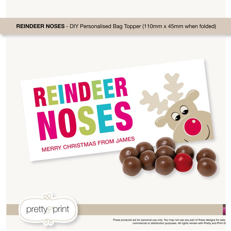 """Search Results for """"Reindeer Noses Free Printable ..."""