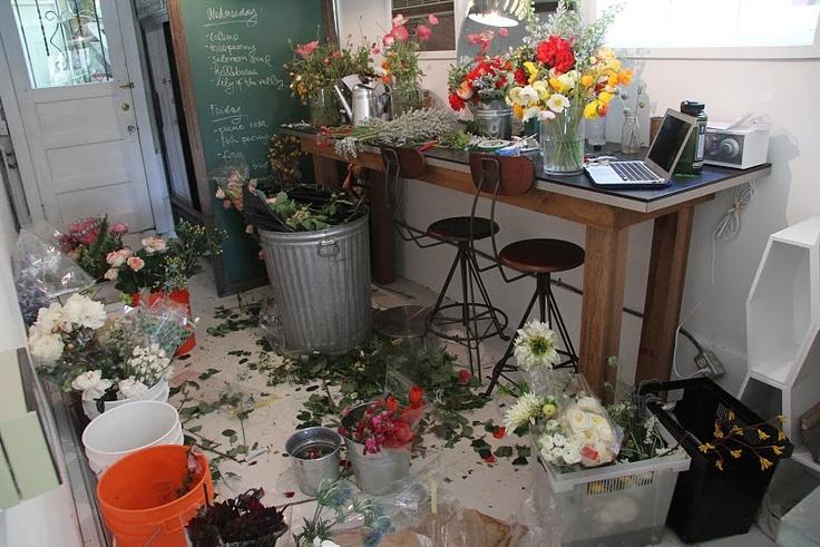 Sarah Winward's studio