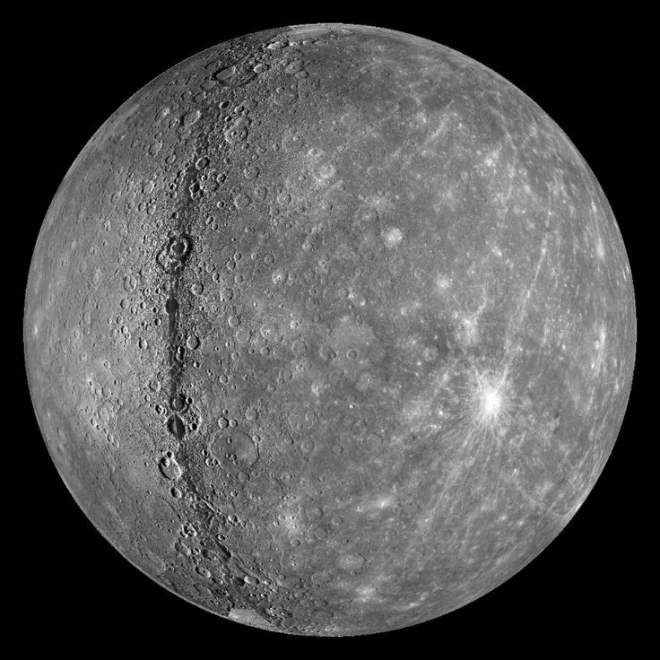 Mercury is the closest planet to our Sun, but oddly enough, not the hottest. Since Mercury has no atmosphere, more of the Sun's heat radiates away from it whereas Venus, even though it's further away from the sun, has a thick greenhouse atmosphere trapping and retaining the Sun's heat and making it hotter.