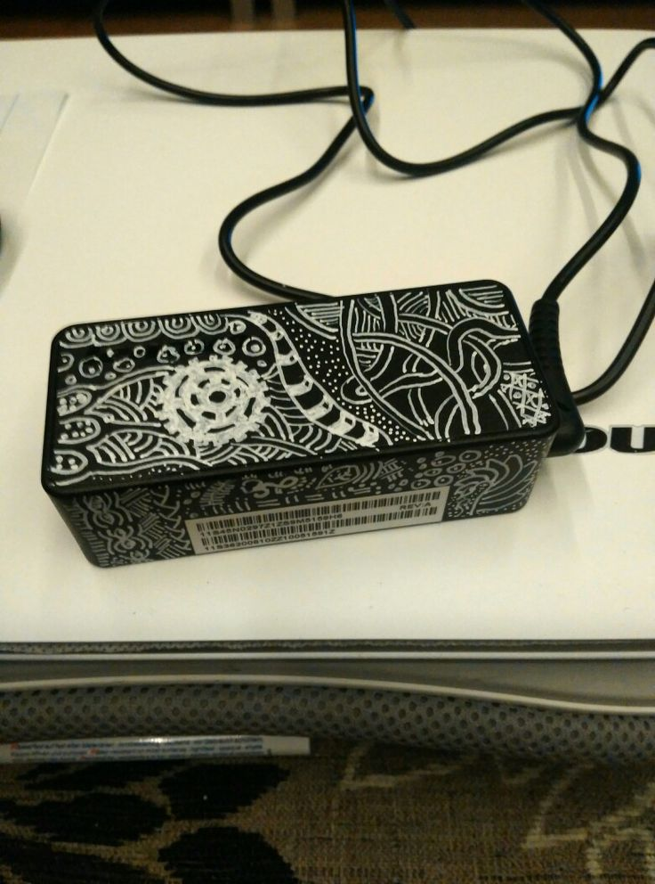 #whiteonblack #zentangle White paint marker, notebook adapter.