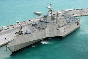 USS Independence (LCS-2), a littoral combat ship.