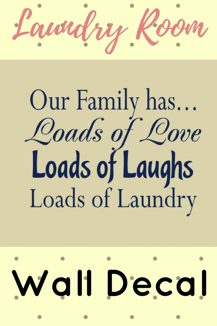 21 best Laundry Stencils - ETSY images on Pinterest | Laundry room ...