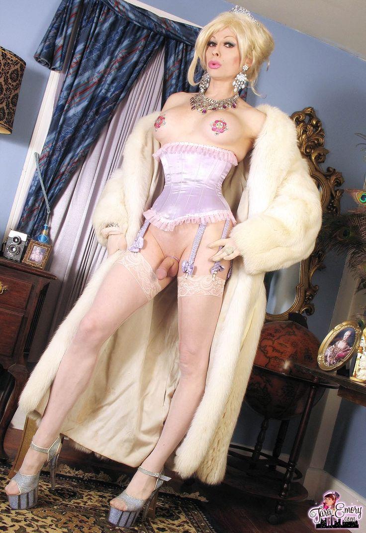 Transvestite performance dancer clothes