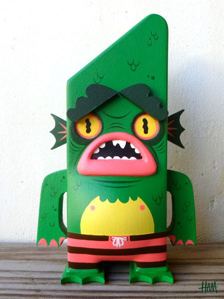 toycutter: Creature from the Black Lagoon Gumpy