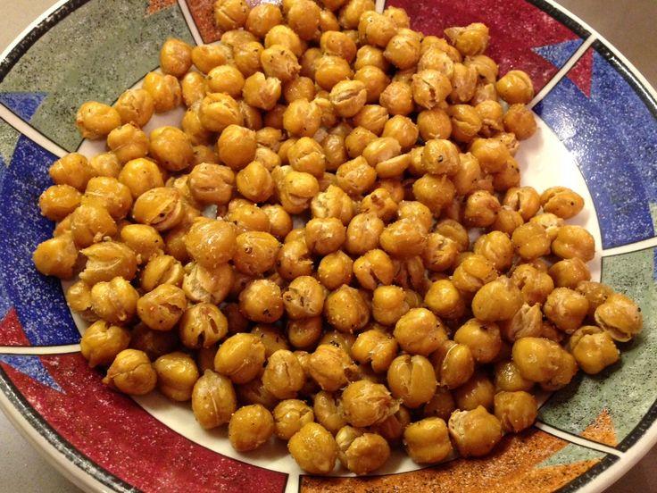 Crispy oven roasted garbanzo bean (AKA chickpeas)Beans Aka, Crispy ...