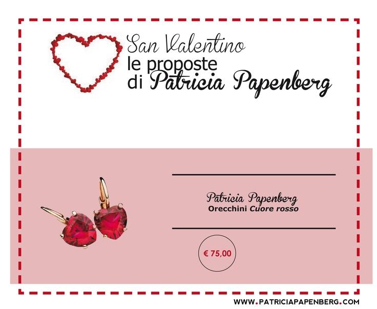 Patricia Papenberg | Orecchini 'Cuore rosso'  http://www.patriciapapenberg.com/it/patricia-papenberg-earings-red-hearth  #anello #ring #sanvalentino #jewels #gioielli