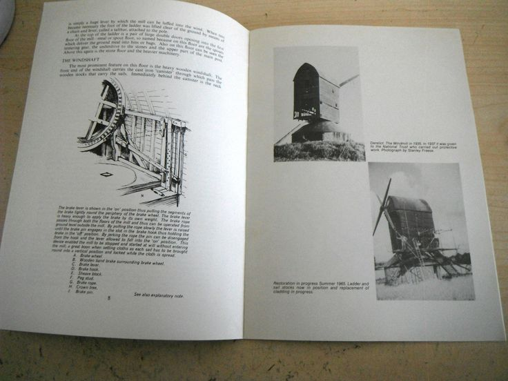 PITSTONE WINDMILL BUCKINGHAMSHIRE HISTORY RESTORATION BOOK 1976 national trust | eBay