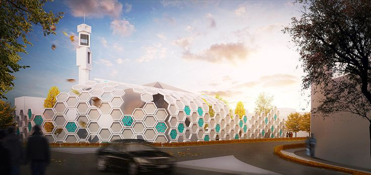 qods mosque renovation by arash g. tehrani generated from islamic pattern - designboom | architecture