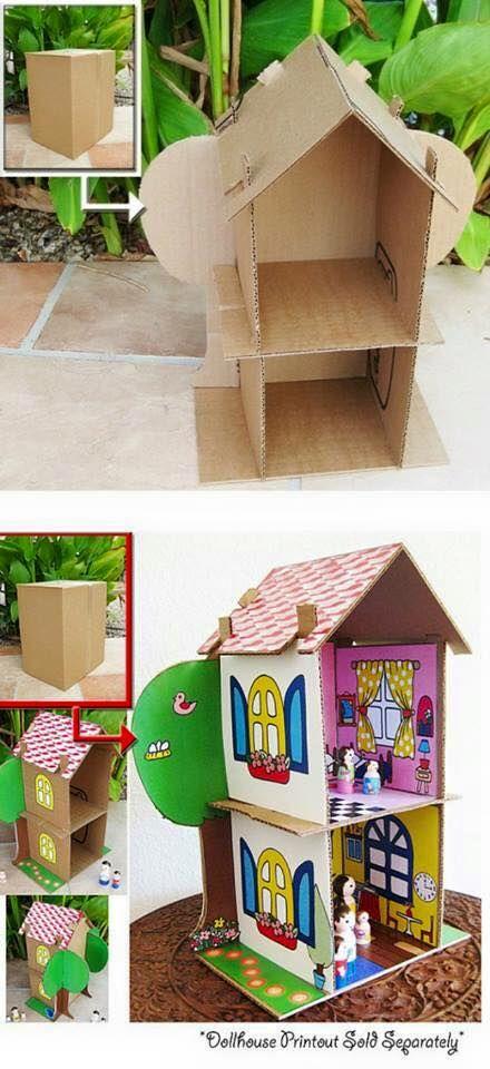 Silk Square Scarf - abandonded dollhouse by VIDA VIDA UY2TX5hnn
