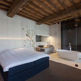 25 beste idee n over slaapkamer op zolder ontwerpen op for Slaapkamer ontwerpen
