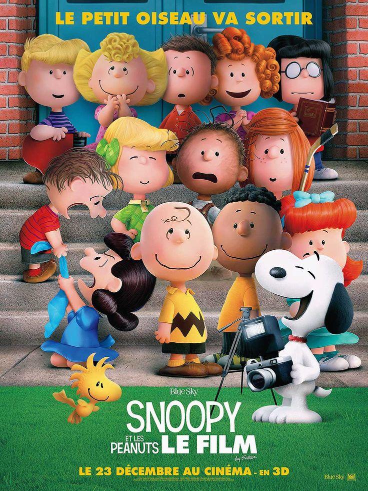 Snoopy et les Peanuts ou The Peanuts Movie. Film d'animation de Steve Martino. Snoopy à la poursuite du Baron Rouge et Charlie Brown veut être un Winner!
