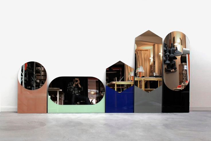 sylvain willenz: shapes mirrors for hay