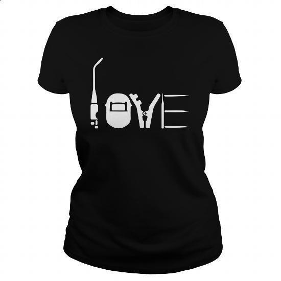 Proud Welder - #tshirt #transesophageal echo. ORDER HERE => https://www.sunfrog.com/Jobs/Proud-Welder-164256239-Black-Ladies.html?60505