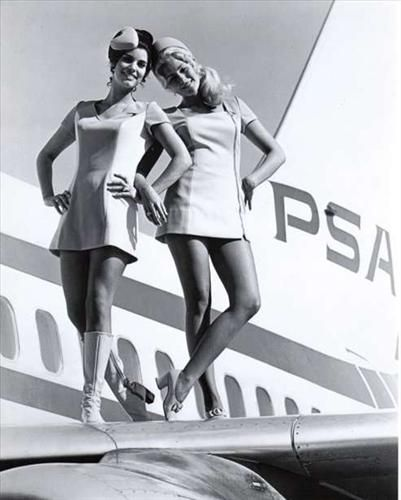 Seksowne stewardessy