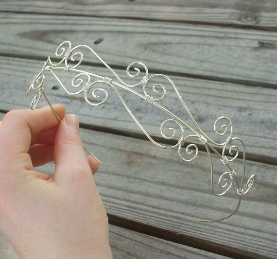 Headband / Tiara / Crown - handmade | an etsy listing for $25.95
