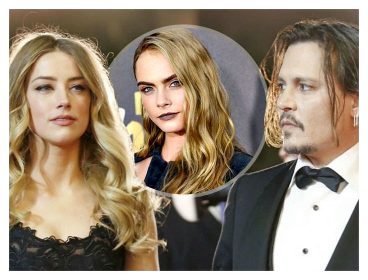 Johnny Depp: ' Εγινε τρελός τρελός επειδή η Amber Heard τα έχει με την Cara Delevigne;