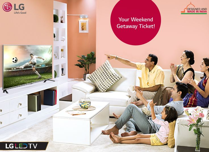 Celebrate the spirit of India and experience some quality family time with #LG LED TV