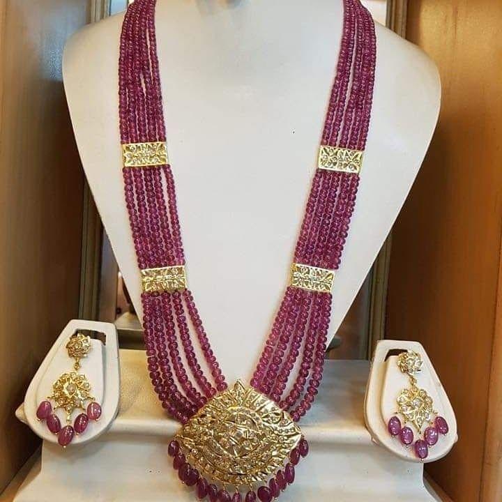 Nizam Neclace Nizam Jewellery Necklace Beaded Necklace