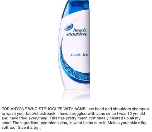 I always have head n shoulders around. Never thought about trying it!