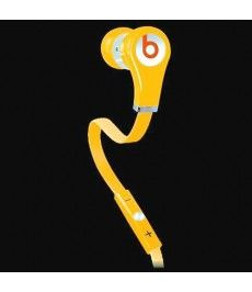 Monster Beats Tour High Resolution In-Ear Yellow Headphones
