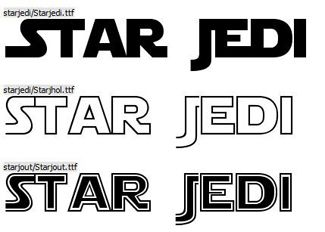 These Star Wars fonts would look great on a range of themed decorations and invitations.